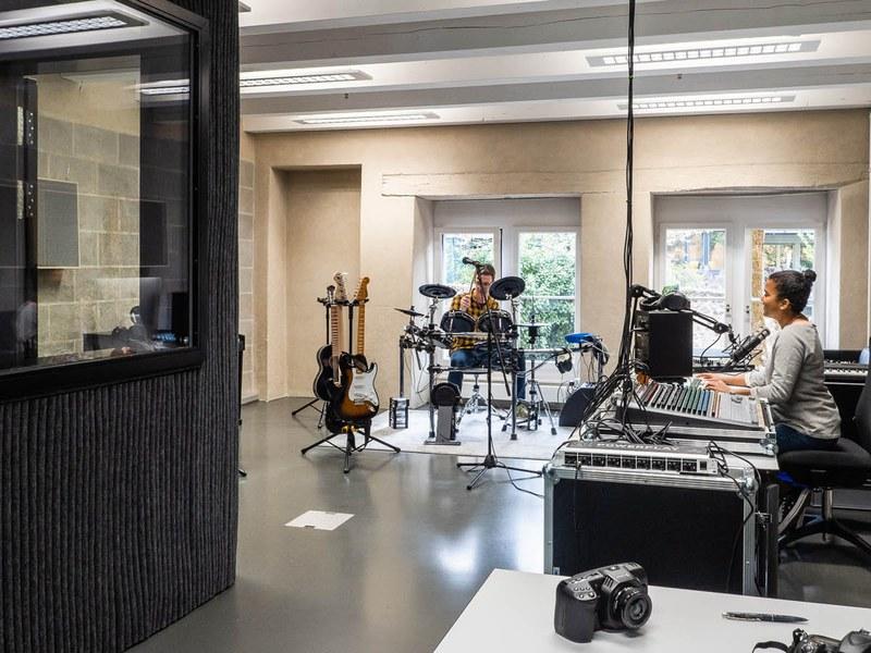 Überblick Studioraum