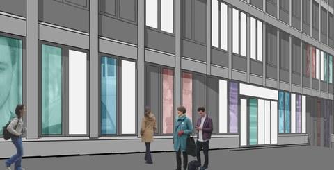 Beat Streuli gewinnt Kunst-am-Bau-Projekt für das neue Polizeigebäude