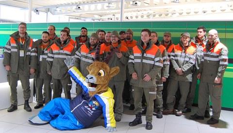Die Zivilschutzorganisation Winterthur und Umgebung unterstützt die Ski-Weltmeisterschaften St. Moritz