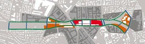 Erkenntnisse aus der Testplanung zum Gleisraum im Stadtzentrum