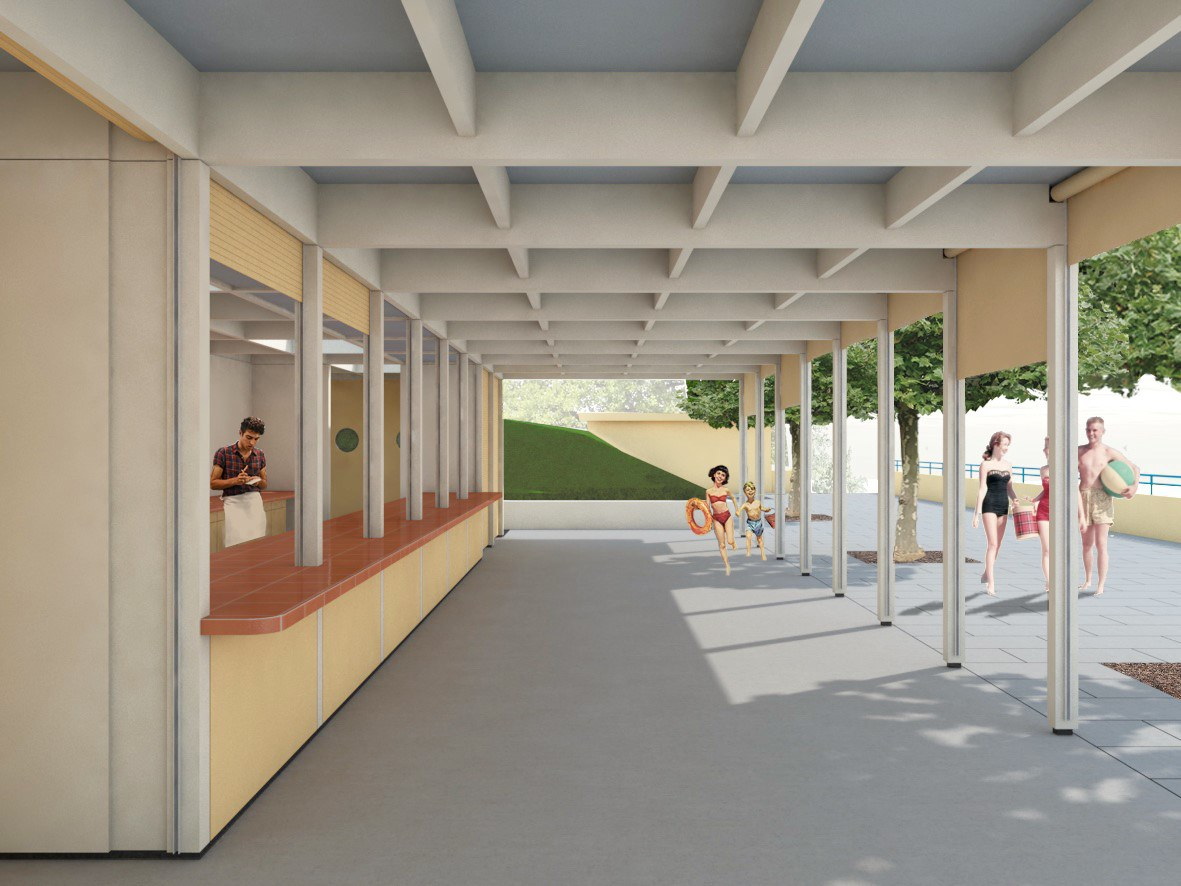Visualisierung des neuen Gebäudes