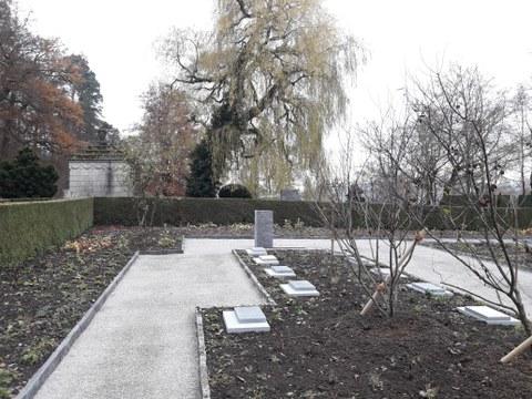 Grabfeld «Blüten & Rosen» auf dem Friedhof Rosenberg eingeweiht