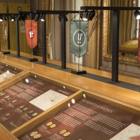 Münzen der Kidariten. Vergrösserte Ansicht