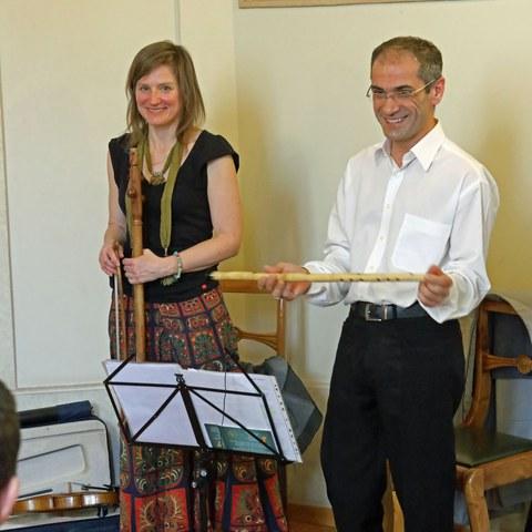 Ejder Sabanci / Bettina Grassmann: Konzert mit Ud, Ney und Rebab. Vergrösserte Ansicht