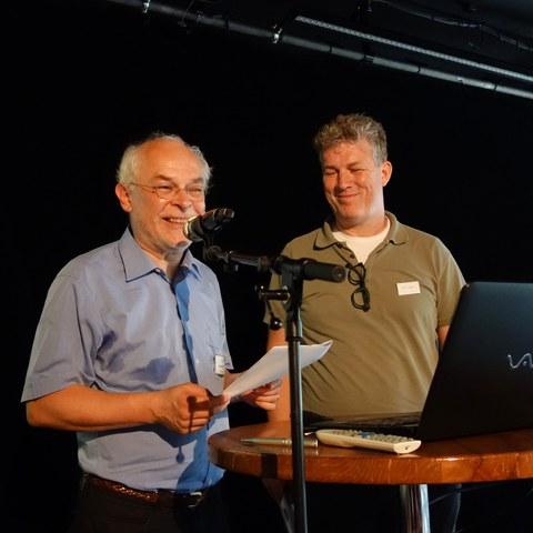 Benedikt Zäch (Münzkabinett) und Svein H. Gullbekk, Oslo. Vergrösserte Ansicht