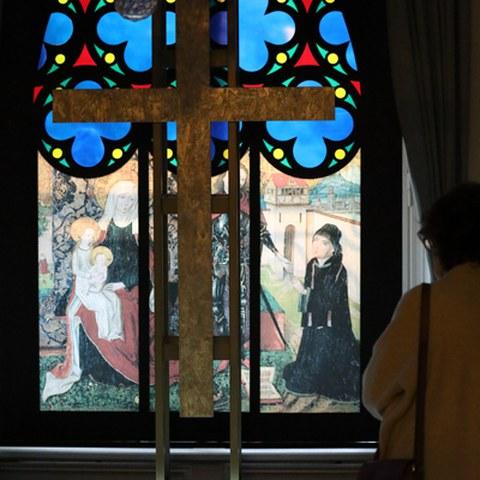 Fenster und Projektion. Vergrösserte Ansicht