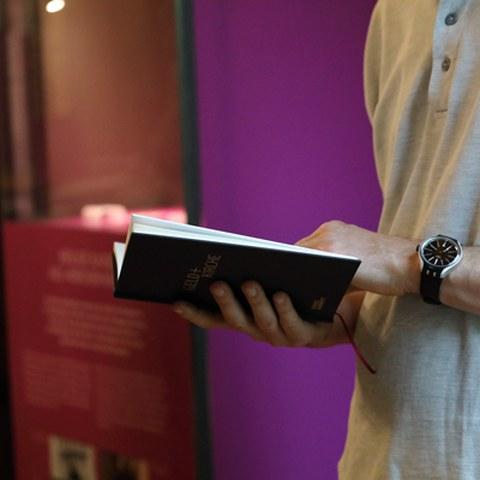Das Buch zur Ausstellung. Vergrösserte Ansicht