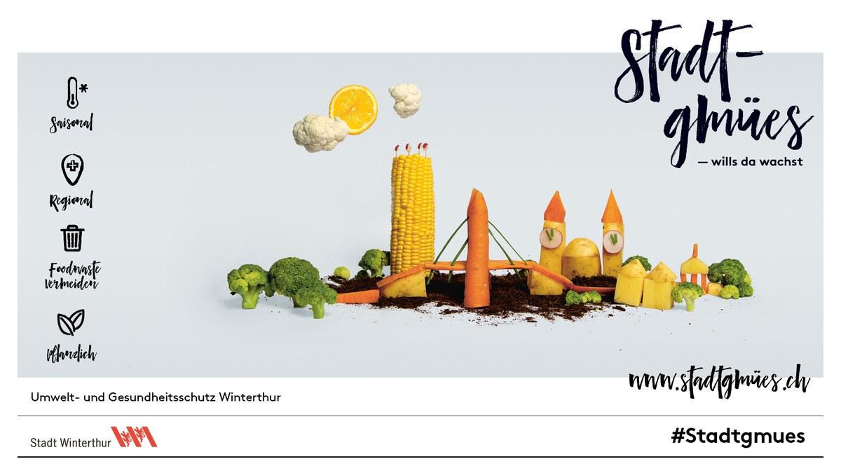 Stadtgmues - Kampagne zur nachhaltigen Ernährung