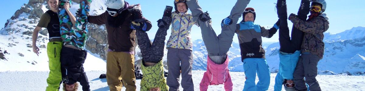 Anmeldung Schneesportcamps
