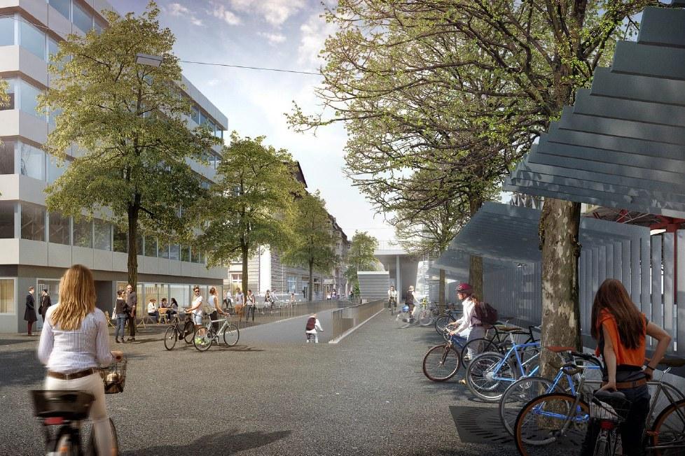 Visualisierung Rudolfstrasse